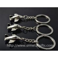 China Where to buy aviation plane keychains? China metal gift factory for cheap airplane keyring on sale