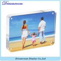 Buy cheap Clear Acrylic Photo Frame 4x6 Gift Box Package And Double Sided Magnetic from wholesalers