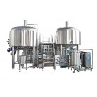 Buy cheap 1500L Stainless Steel Large Brewing Equipment Semi - Automatic In Beer Production from wholesalers