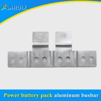 Buy cheap Tinned 0.1mm flexible aluminum laminated connectors for high current transformer from wholesalers