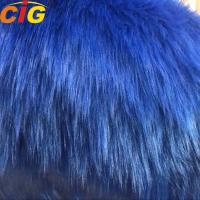 Buy cheap Long Hairs Plain Synthetic Faux Fur Fabric For Sofa And Car Seat Cover from wholesalers