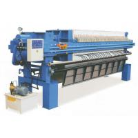 Buy cheap Automatic plate drawing Plate and frame Filter Press in food and beverage industry from wholesalers