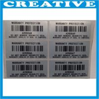 Buy cheap security void barcode label product
