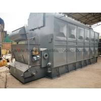Buy cheap Hot Biomass Briquette Fuel Boiler / Industrial Biomass Chain Grate Steam Boiler from wholesalers