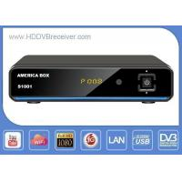 Buy cheap Black America Box S1001 DVB Satellite Receiver With IKS 1GHz DDR3 from wholesalers