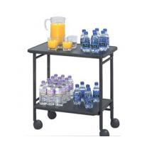 Buy cheap Office depot laptop cart,double layers steel drink cart from wholesalers