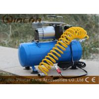 Buy cheap 150psi 12V Portable Electric Air Compressor / Metal Car Air Pump from wholesalers
