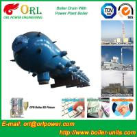 Buy cheap High Pressure Coal Boiler Mud Drum Longitudinal With Fire Prevention product