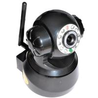 Buy cheap Two Way Audio H.264 CMOS IR-CUT WIFI  Pan and Tilt IP Camera 0.3Lux , Embedded Linux OS product