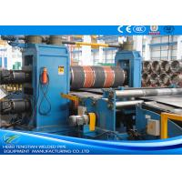 Buy cheap Semi - Automatic Steel Coil Slitting Line With SKD11 Blade Safety Operation from wholesalers