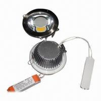 Buy cheap COB LED Downlight with 174 to 264V AC Input Voltage  product