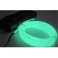 Buy cheap Rigid Green Color EL Lighting Wire String Light For Instrument Display AC 110 - 220V from wholesalers