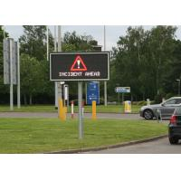 Buy cheap Full Matrix LED Variable Message Signs Energy Saving For Bridge Construction from wholesalers