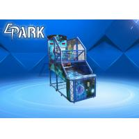 Buy cheap Philippines Indoor Electronic Commercial Coin Operated Shooting Arcade Basketball Game Machine for Children from wholesalers