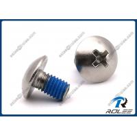 Buy cheap Philips Truss Head Self-locking Machine Screws, Stainless Steel 304/316/18-8 from wholesalers