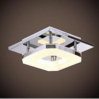 Buy cheap Modern Acrylic Chrome Finish LED Ceiling Light from wholesalers