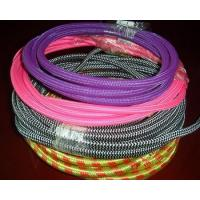 Buy cheap Polyster Pet Expandable Braided Sleeving Black  For Electrical Cables / Power Cord from wholesalers