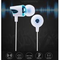 Buy cheap Metal Noise Cancelling Sport Earbuds / Hifi Wired Stereo Headphone With Mic Piezo And Moving - Coil Dual Unit Handsfree from wholesalers