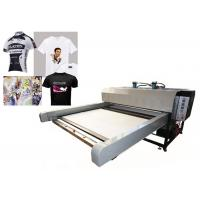 Buy cheap Sublimation Textile Printing Machine / Digital Flatbed Printer High Efficiency from wholesalers