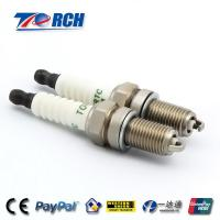 Buy cheap Nickel Plated Motorcycle Spark Plugs , 0.8mm Gap Spark Plugs For Honda Motorcycles  product