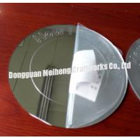 Buy cheap plastic acrylic word etched mirror sheet / engrave word mirror sheet from wholesalers