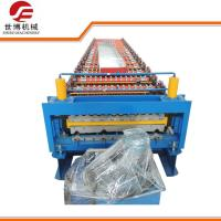 Buy cheap IBR Corrugated Roofing Sheet Making Machine With 1000mm / 1200mm Steel Coil Width from wholesalers