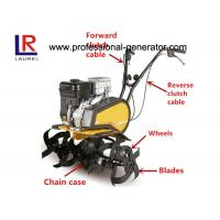 Buy cheap 196cc 6.5HP Gasoline Small Garden Tiller With 1 Forward 1 Reverse For Farm Cultivator from wholesalers