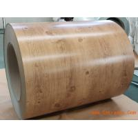 Wood Grain Pattern Color Coated Prepainted Steel Coil Hot Dipped GI Steel Coils