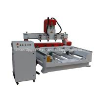 Buy cheap 4 Spindles 4 Rotary Axis Cylinder Flat Wood Carving Machine with NK105 Control product