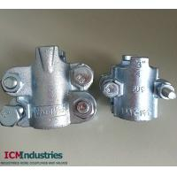 Buy cheap Interlock hose clamp/four bolts hose clamp from wholesalers