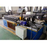 Buy cheap Full Automatical Metal Door Frame Roll Forming Machine 8-16 Working Hours Per Day product
