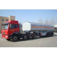 Buy cheap 40000 liters 1 compartment semi truck fuel tanks trailer for sale from wholesalers