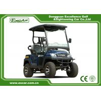 Buy cheap Aluminium Framework 2 Seater Electric Car for Hunting , Max.speed 45km/h from wholesalers