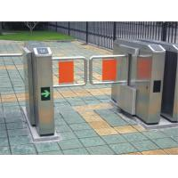 Buy cheap Pedestrian swing barrier gate for staff and visiting access control from wholesalers