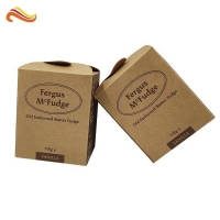 Buy cheap Offset Printing Ivory Board Kraft Paper Box For Handmade Fudge from wholesalers