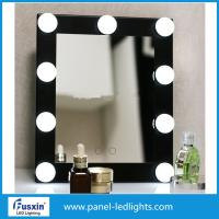 Buy cheap Pure White Above Vanity Mirror With Light Bulbs Around It , AC 220-240V from wholesalers