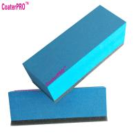 Buy cheap ceramic glass Coating sponge nano glass coat applicator pad car polishing sponge auto detail sponge coating agent sponge from wholesalers