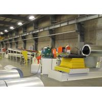 Buy cheap 20 Rollers Steel Silo Roll Forming Machine / Panel Cold Roll Forming Machine product