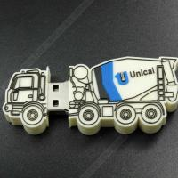 Buy cheap Car  Series Cartoon Usb Flash Memory , Usb 2.0 Memory Stick Pvc Or Soft Plastic from wholesalers