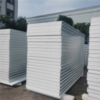 Buy cheap 1150 type insulated eps sandwich panels with waterproof for internal and external wall from wholesalers