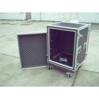Buy cheap 16u Rack Flight Case, Aluminum With Good Wood, Black Color For Audio And Light from wholesalers