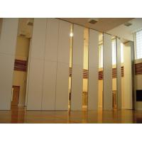 Buy cheap Function Hall Decorative Acoustic Room Dividers / Sliding Operable Wall Panel from wholesalers