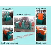 Buy cheap Crumb Rubber Tyre Recycling Machine/Used Tire Cutting Equipment/Rubber Powder Producing Line from wholesalers