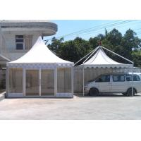 Buy cheap 5 X 5 Garden Pavilion Tent , Pagoda Canopy Tent 5.1 Meter Ridge Height from wholesalers