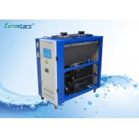 8 HP Double Condenser Portable Water Chiller Units Water Cooled Ac Unit 380V