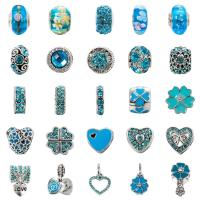 Buy cheap Fashion Crystal Pandora Style Beads For Bracelet For DIY Jewelry Making 25 Styles from wholesalers