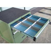 Buy cheap Rolling Metal Tool Cabinet With Drawers For Storage , Workbench Tool Chest from wholesalers