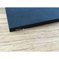 Buy cheap Open Celled EVA Foam Rubber Insulation Foam Sheet Black Wear Resistant Silicone Sponge Board from wholesalers