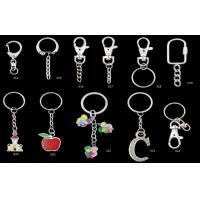 Buy cheap Iron Stainless Steel Handbag Accessories Nice Metal Key Ring With Screw from wholesalers