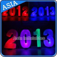 Buy cheap Inflatable Cone lighting led inflatable alphabet decoration at park or garden from wholesalers